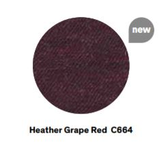 heather grape red