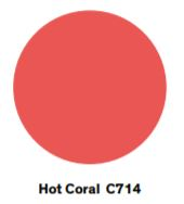 hot coral